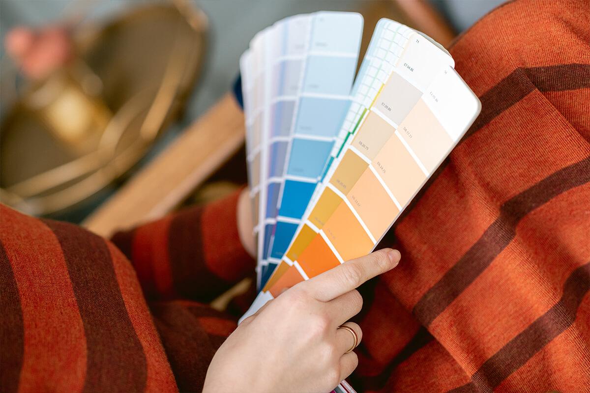 Met een kleurenpalet creëer je een duidelijke identiteit