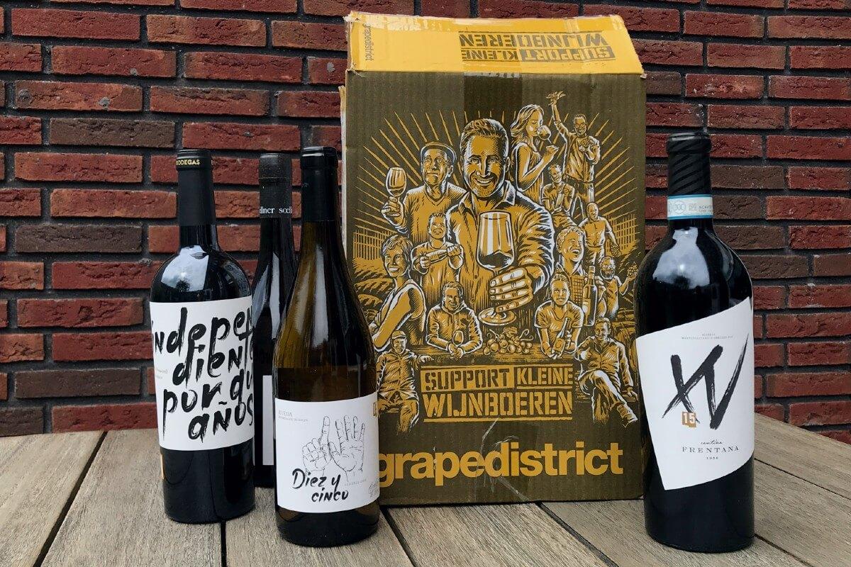 Grapedistrict | Wijndoos voor kleine wijnboeren